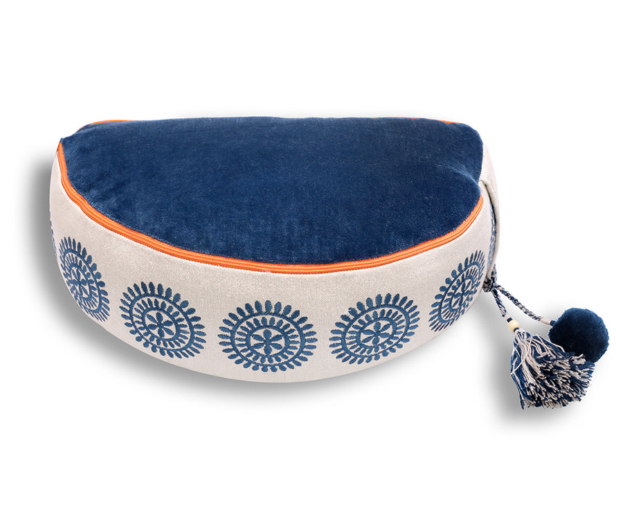 half zafu meditation cushion