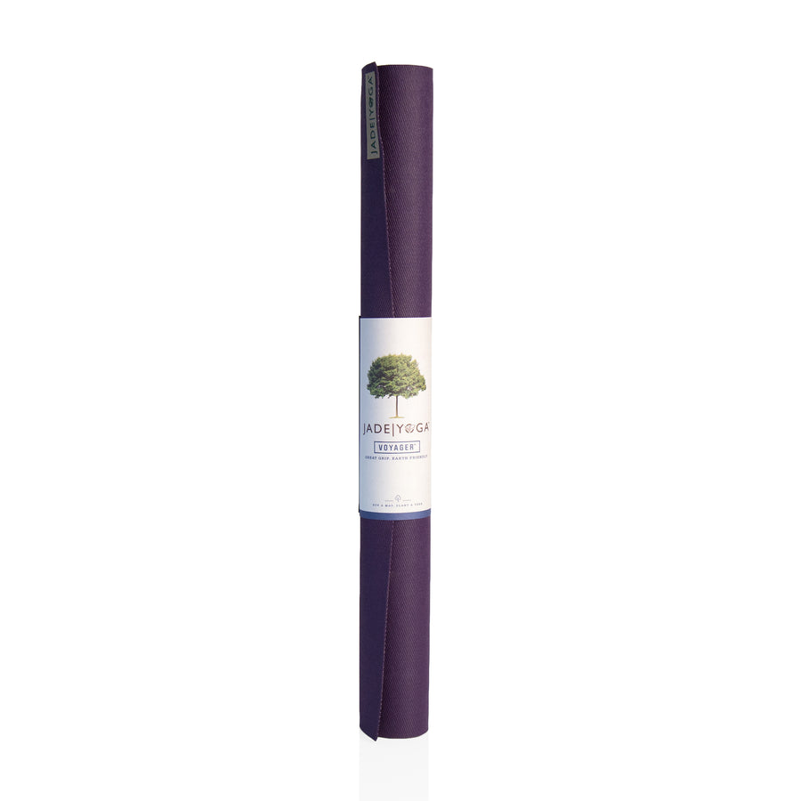 "Voyager Mat by Jade Yoga 68"" Purple"