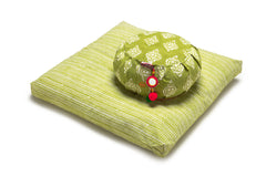 Kiwi Ikat Zafu Meditation Cushion