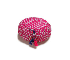 Fuchsia Shikhara Zafu Meditation Cushion
