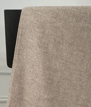 Under the Same Sky :: Giving Cashmere Blanket, light brown chevron