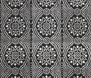 Black Bandhani fabric