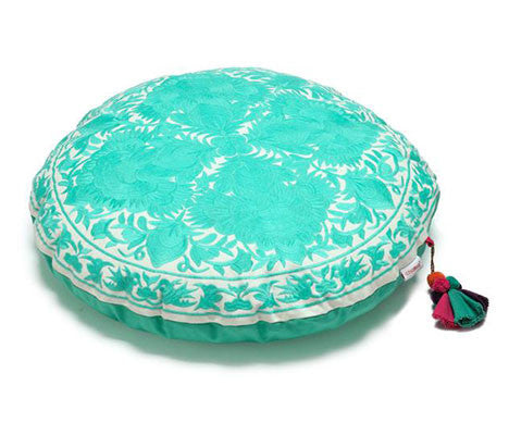 Aqua Flora Zafuton Meditation Cushion