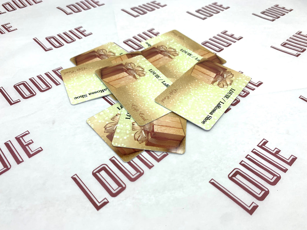LOUIE Gift Cards