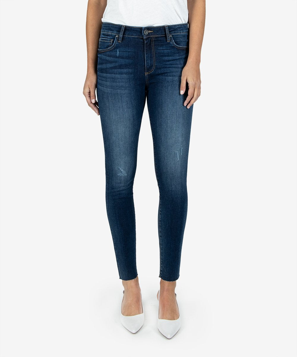 KUT From The Kloth Connie High Rise Ankle Skinny Jean