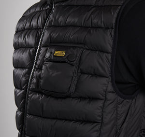 Barbour Intl Ousten Hooded Gilet
