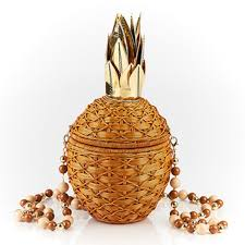Serpui Marie Pineapple Bag