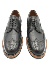 Load image into Gallery viewer, Alden Pre-Order Atom Wingtip Blucher in Dark Brown Regina Calf (Deposit Required)