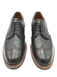 Alden Pre-Order Atom Wingtip Blucher in Dark Brown Regina Calf (Deposit Required)