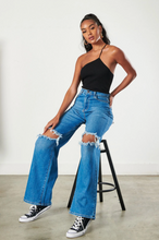 Load image into Gallery viewer, My Denim Flare