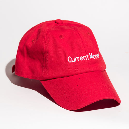 Current Mood Dad Hat - Women's Cap Fashion 2020 - Red