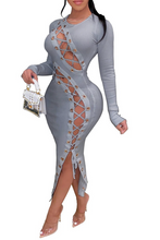 Load image into Gallery viewer, Ready or Not Midi Dress