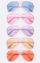 Load image into Gallery viewer, Color Me Sunnies Sunglasses - Ladies Clear Eyewear Fashion 2020