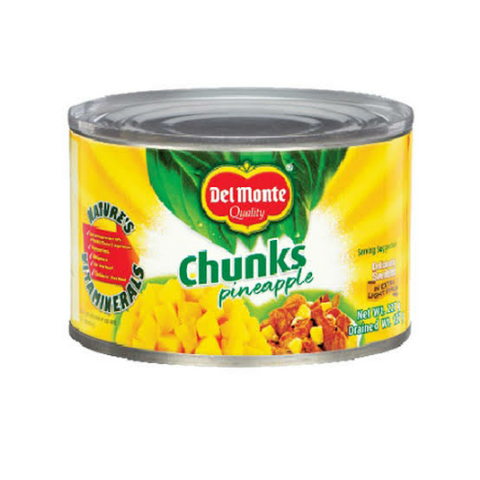 Del Monte Chunks Pineapple 227g