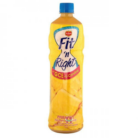 Del Monte Fit 'n Right Pineapple Juice Drink 1L