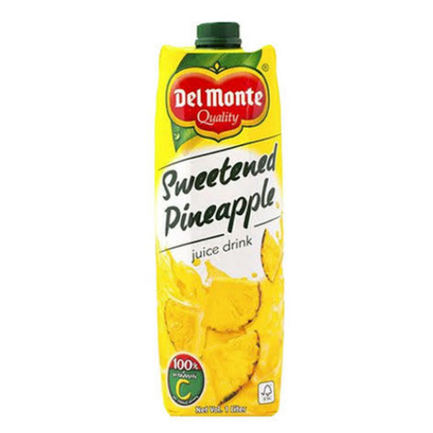 Del Monte Sweetened Pineapple 1L