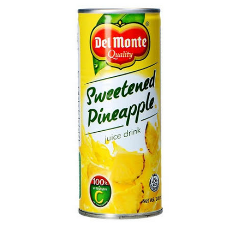 Del Monte Sweetened Pineapple 240ml