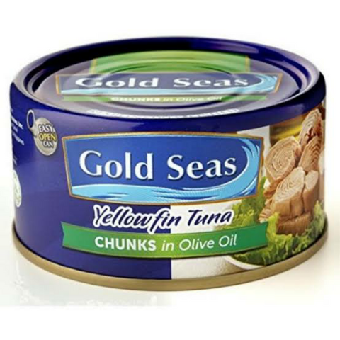 Gold Seas Tuna Chunks in Olive oil 185g