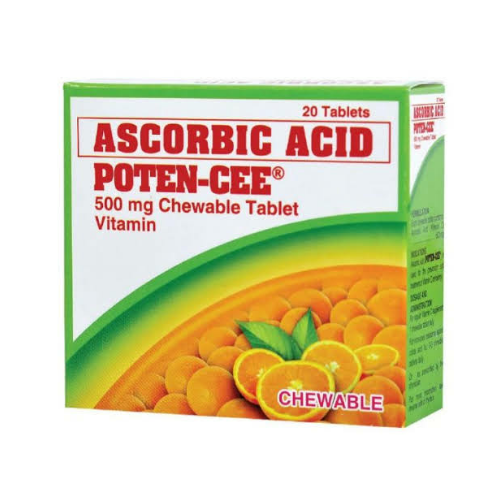 Poten-cee Vitamin C 500mg Chewables
