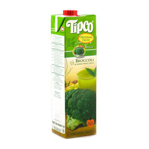 Tipco 100% Brocolli Mixed Fruit Juice 1 liter