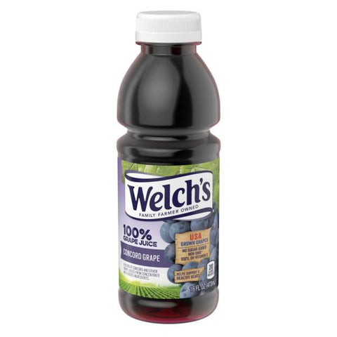 Welch's 100% Grape Juice Purple 16oz