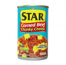 Star Corned Beef Chunky Cheese 150G