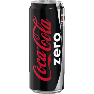 Coca Cola Zero Can 330ml