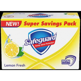 Safeguard Soap Lemon Fresh 180g