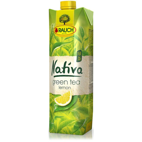 Nativa Real Brewed Green Tea W/Lemon 1L