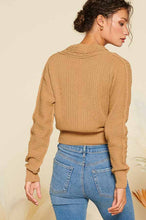 Load image into Gallery viewer, Cable Knit Cropped Cardi - 3 colors