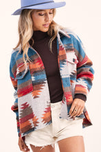 Load image into Gallery viewer, Mackenna Jacket - Rust/Teal