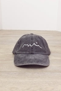 Mountain Silhouette Baseball Cap - 6 colors