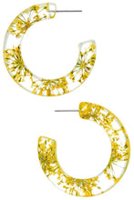 Load image into Gallery viewer, Leilani Acrylic Flower Hoops - 4 colors