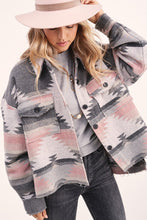 Load image into Gallery viewer, Mackenna Jacket - Grey/Pink