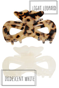 Acetate Hair Claw - Bow