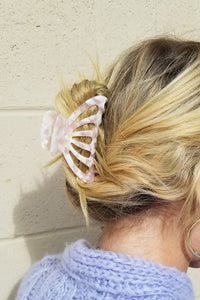 Acetate Hair Claw - Classic Shell
