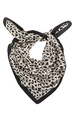 Load image into Gallery viewer, Silky Square Bandana - Leopard