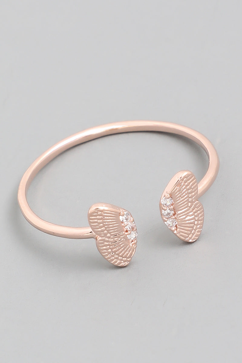 Butterfly Wing Wrap Ring
