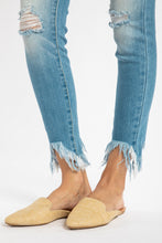 Load image into Gallery viewer, Delilah Fringe Hem Skinny Jean