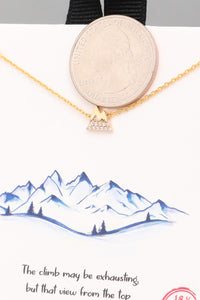 Mini Mountain Necklace