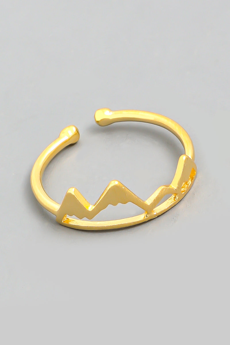Mountain Silhouette Ring