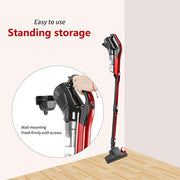 Vacuum Cleaner Corded 17000PA 3 in 1 Stick Vacuum Cleaner with HEPA Filter Lightweight for Home Hard Floor Car Pet GeeMo H594