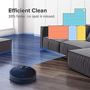 Roborock S4 Robot Vacuum, Precision Navigation, 2000Pa Strong Suction, Robotic Vacuum Cleaner with Mapping, Ideal for Pet Hair, Low-Pile Carpets & Most Floor Types