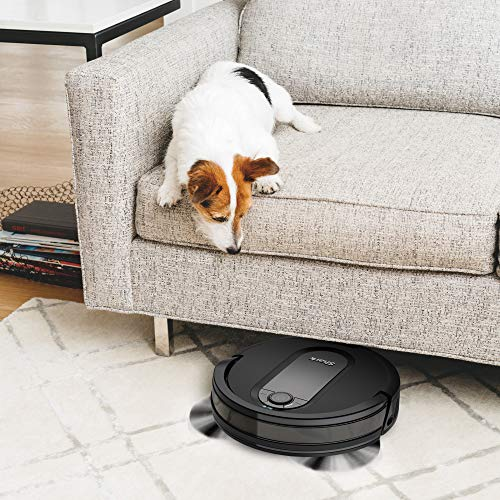 Shark IQ R101, Wi-Fi Connected, Home Mapping Robot Vacuum, Without Auto-Empty dock, Black