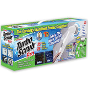 Turbo Scrub PRO - 360 Cordless Rechargeable Floor Scrubber and Tile Cleaning Machine - 25% More Power & 25% More Battery Life