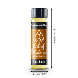 Oil of Gladness Anointing Oil<br> Frankincense and Myrrh