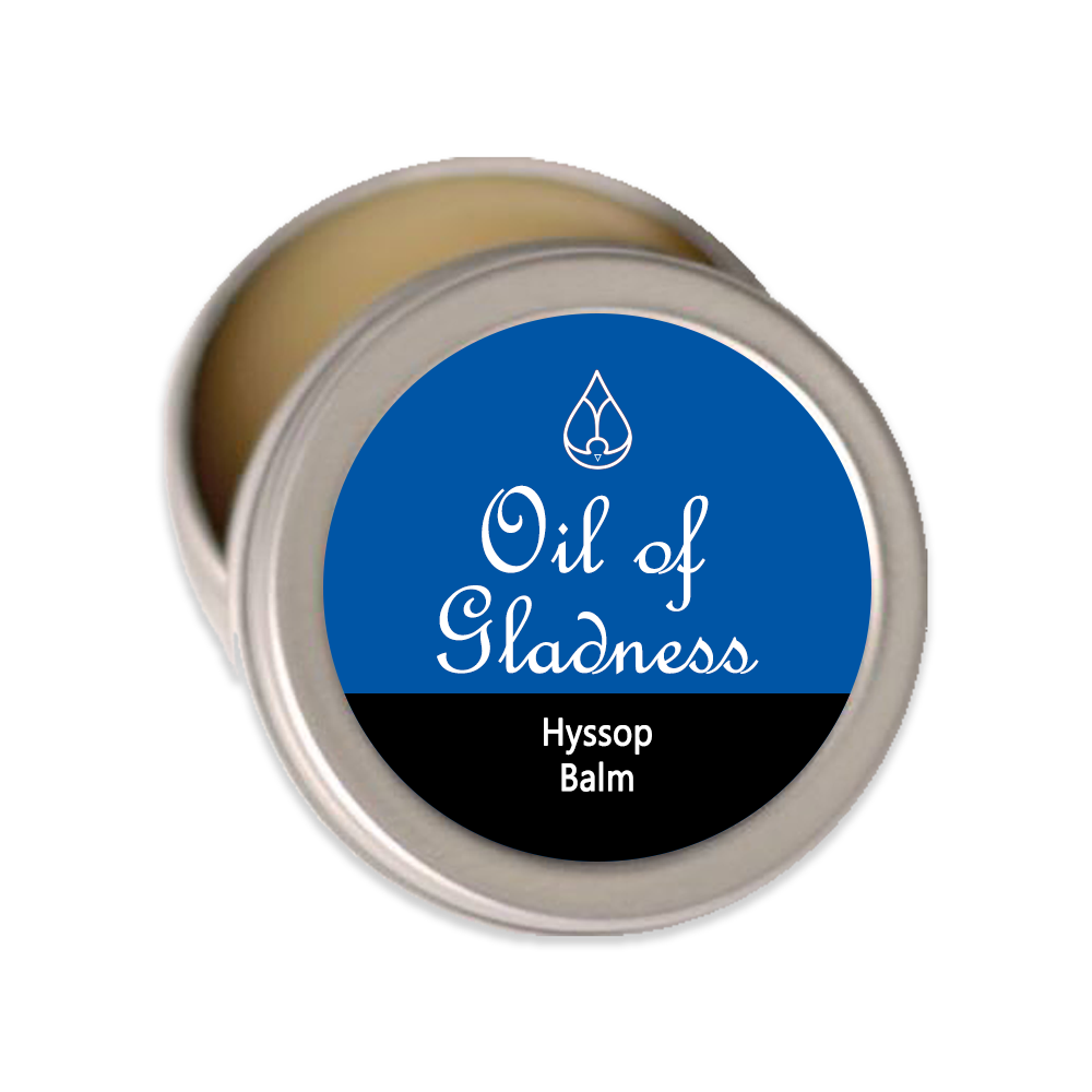 Oil of Gladness Anointing Oil<br> Hyssop Solid Balm