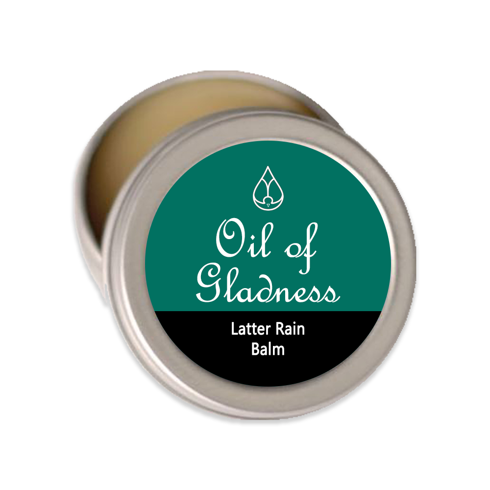 Oil of Gladness Anointing Oil<br> Latter Rain Solid Balm