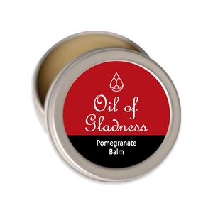 Oil of Gladness Anointing Oil<br> Pomegranate Solid Balm