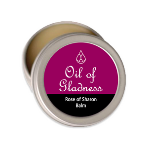 Oil of Gladness Anointing Oil<br> Rose of Sharon Solid Balm